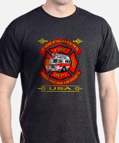 Firefighters~American Heroes T-Shirt