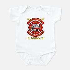 Firefighters~American Heroes Infant Bodysuit