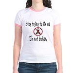 Don't Fix Me Jr. Ringer T-Shirt