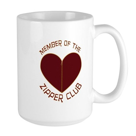 Zipper Club Large Mug