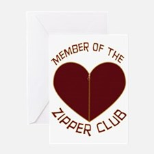 Zipper Club Greeting Card