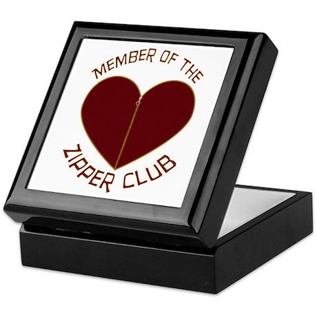 Zipper Club Keepsake Box