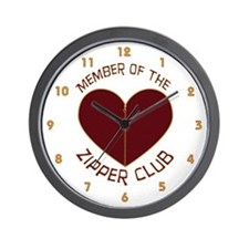 Zipper Club Wall Clock