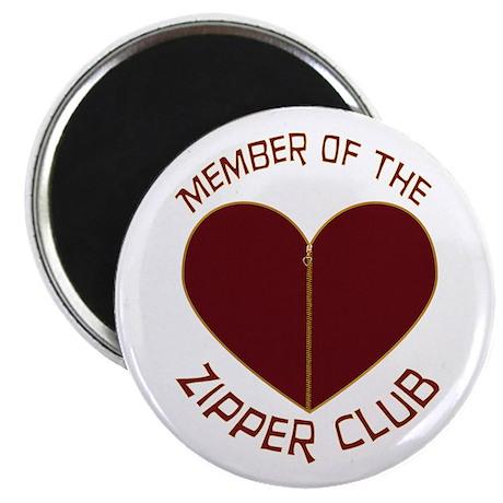 """Zipper Club 2.25"""" Magnet (10 pack)"""