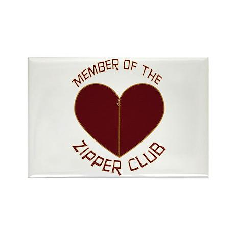 Zipper Club Rectangle Magnet (100 pack)