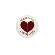 Zipper Club Mini Button (10 pack)
