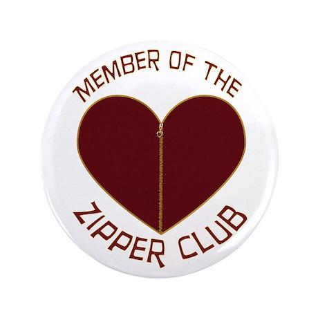 "Zipper Club 3.5"" Button"
