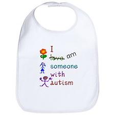 I Am Someone with Autism Bib