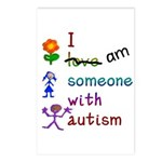I Am Someone with Autism Postcards (Package of 8)