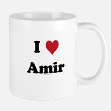 I love Amir Small Small Mug