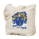 Lalonde Family Crest Tote Bag