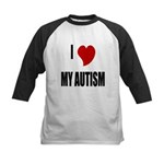 I Love My Autism Kids Baseball Jersey