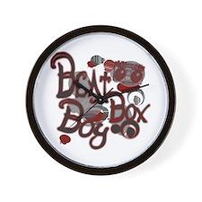 Beat Box Boy R Wall Clock