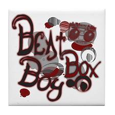 Beat Box Boy R Tile Coaster