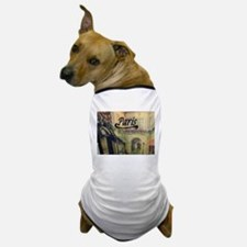Paris Streets Dog T-Shirt