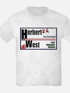 Herbert West reanimator president T-Shirt