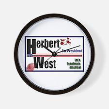 Herbert West reanimator president Wall Clock