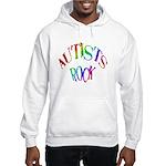 Autists Rock Hooded Sweatshirt