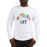 Autists Rock Long Sleeve T-Shirt