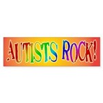 Autists Rock Bumper Sticker