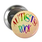 """Autists Rock 2.25"""" Button"""