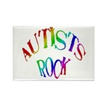 Autists Rock Rectangle Magnet (100 pack)