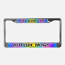 Celebrate the Spectrum License Plate Frame