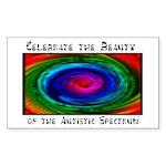 Celebrate the Spectrum Rectangle Sticker