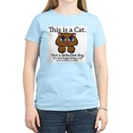 This is a Cat Women's Light T-Shirt