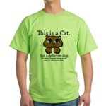 This is a Cat Green T-Shirt