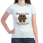 This is a Cat Jr. Ringer T-Shirt