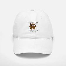 This is a Cat Baseball Baseball Cap