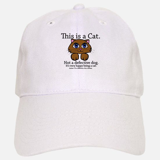 This is a Cat Baseball Baseball Cap