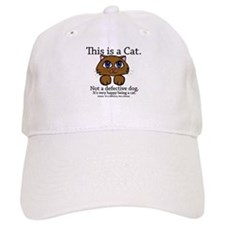 This is a Cat Baseball Cap