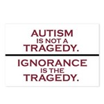 Autism is not a Tragedy Postcards (Package of 8)