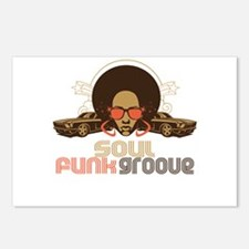 Soul Funk Groove Postcards (Package of 8)