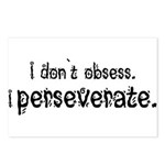 I Perseverate Postcards (Package of 8)
