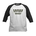 Auties Rock! Kids Baseball Jersey