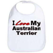Australian Terrier Bib