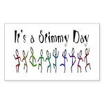 It's a Stimmy Day! Rectangle Sticker