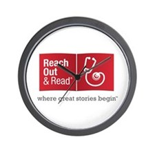 Reach Out And Read Wall Clock