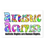 Autistic Activist v1 Postcards (Package of 8)