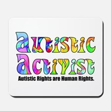 Autistic Activist v1 Mousepad