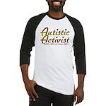 Autistic Activist v2 Baseball Jersey