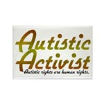 Autistic Activist v2 Rectangle Magnet