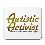 Autistic Activist v2 Mousepad