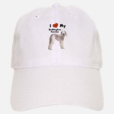 I Love My Bedlington Terrier Baseball Baseball Cap