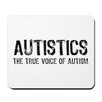 True Voice of Autism Mousepad