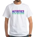Voice of Autism (Color) White T-Shirt