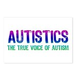 Voice of Autism (Color) Postcards (Package of 8)